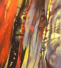 Alpine Bark Study 3 (22 x 25 cm)