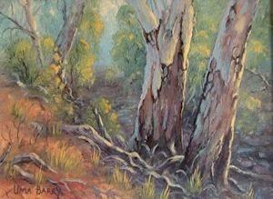 Early Morning, Werribee, Victoria (16 x 12cm)
