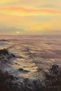 First Light, Shipwreck Coast (18 x 26 cm)