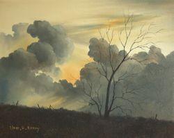 Sundown, Nadi, Fiji (28 x 22 cm)